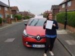 Samantha  passed with John Michael Driving School