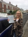 Rosie passed with John Michael Driving School