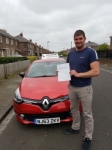 Aaron Bell passed with John Michael Driving School