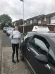 Jessica  passed with John Michael Driving School
