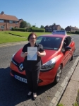 Sonja passed with John Michael Driving School