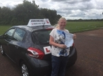 Kelly passed with John Michael Driving School
