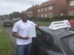 Greg passed with John Michael Driving School