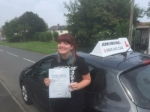 Billie Jo passed with John Michael Driving school