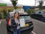 Emma passed with John Michael Driving school