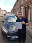 Vojdech passed with John Michael Driving school