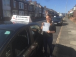 Inna Karacova passed with John Michael Driving School