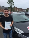 Matthew Newbrook passed with John Michael Driving School