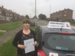 Rachel Allen passed with John Michael Driving School