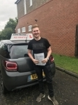 Cameron Taylor passed with John Michael Driving School