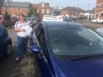 Gail passed in Blyth passed with John Michael Driving School