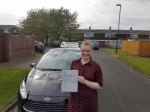 Catherine Burns passed with John Michael Driving School