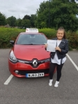 Ellie Mcarroll passed with John Michael Driving School