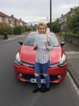 Megan Arkle passed with John Michael Driving School