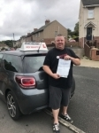 Charles passed with just 3 faults passed with John Michael Driving School