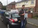 Gvidas Patupa passed with John Michael Driving School