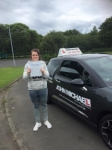 Kate Lansdown  passed with John Michael Driving school