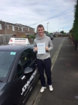 Kieran Ainsely  passed with John Michael Driving school