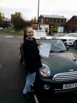 Lucia passed with John Michael Driving School