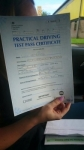 Licy Mcvitto passed with John Michael Driving School