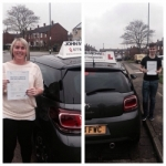 Suzanne and Ryan passed with John Michael Driving school