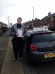 Mark Thompson passed with John Michael Driving School