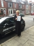 Mary-Ann passed with John Michael Driving School