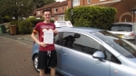 Matthew Bowness passed with John Michael Driving school