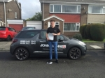 Matty Sneddon  passed with John Michael Driving school