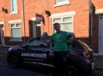 Nathan Richards passed with John Michael Driving school