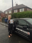 Rachel Connolly passed with John Michael Driving School