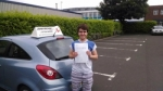 Richie passed with John Michael Driving School