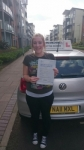 Sarah Mcdonald passed with John Michael Driving school