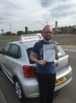 Steven passed with John Michael Driving school