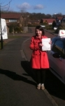Vicky, S passed with John Michael Driving school
