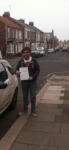 Alex, B passed with John Michael Driving School