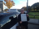 Andrea, S passed with John Michael Driving School
