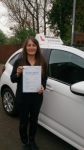 Anita passed with John Michael Driving School