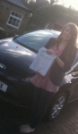 Beth, H passed with John Michael Driving school
