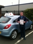 Craig passed with John Michael Driving School