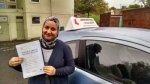 Dr Alya Al-obalda passed with John Michael Driving School