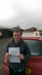 David Mason  passed with John Michael Driving School