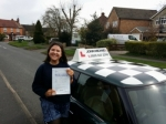 Poppy passed with John Michael Driving School