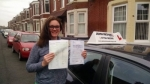 lea Wilson passed with John Michael Driving school