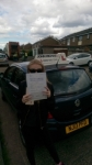 Natasha Orr passed with John Michael Driving School