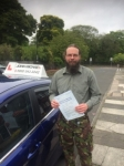 Mark Barber passed with John Michael Driving School