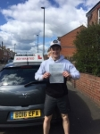 Bobby Clark passed with John Michael Driving School