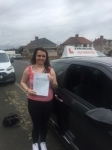 Margaret Short passed with John Michael Driving School