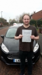 Barry passed with John Michael Driving School