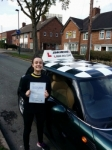 Chloe passed with John Michael Driving School
